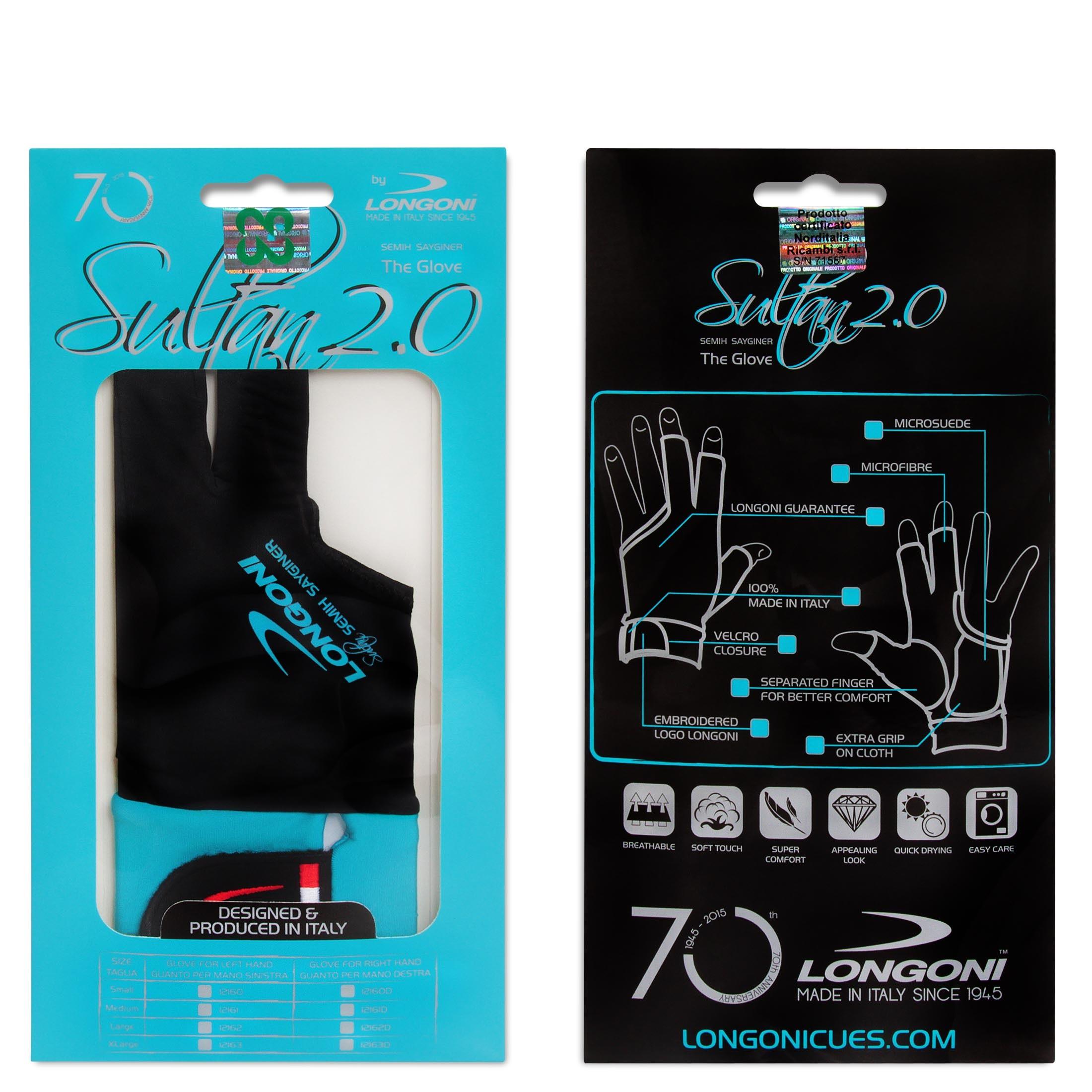 Перчатка Longoni Sultan 2.0 правая XL (для левши)