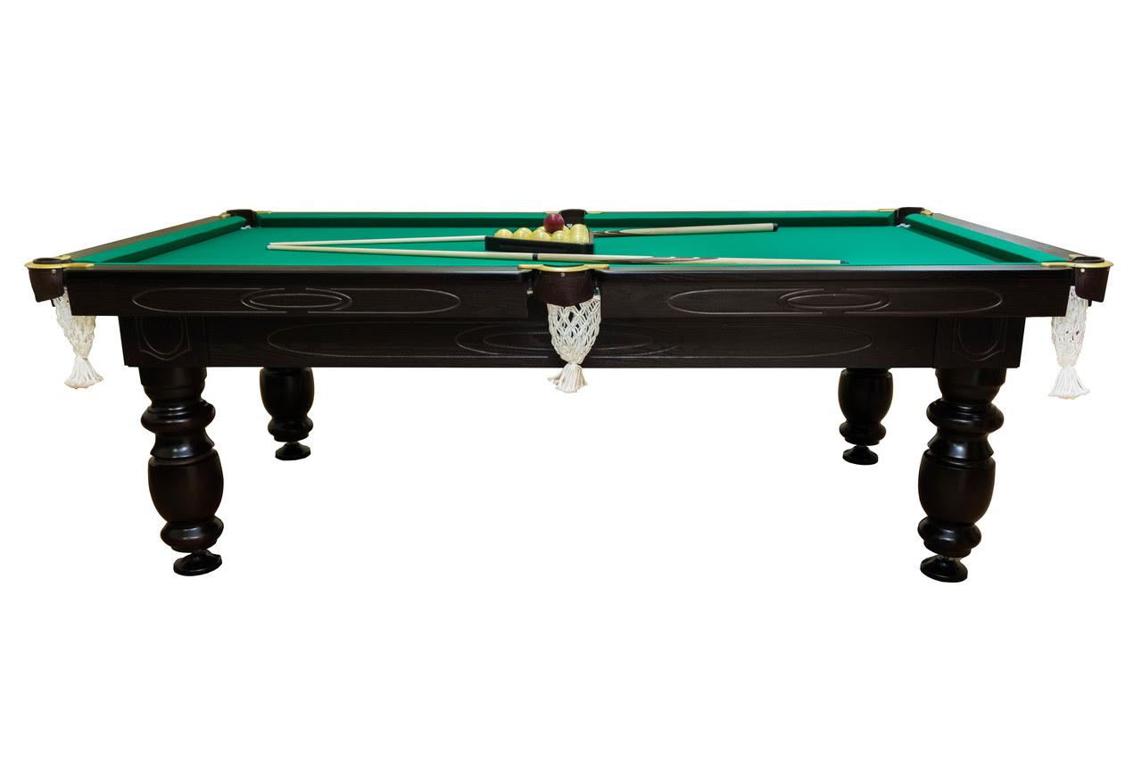 Бильярдный стол Мрия Нова Люкс (Ардезия) 8 футов Базовая