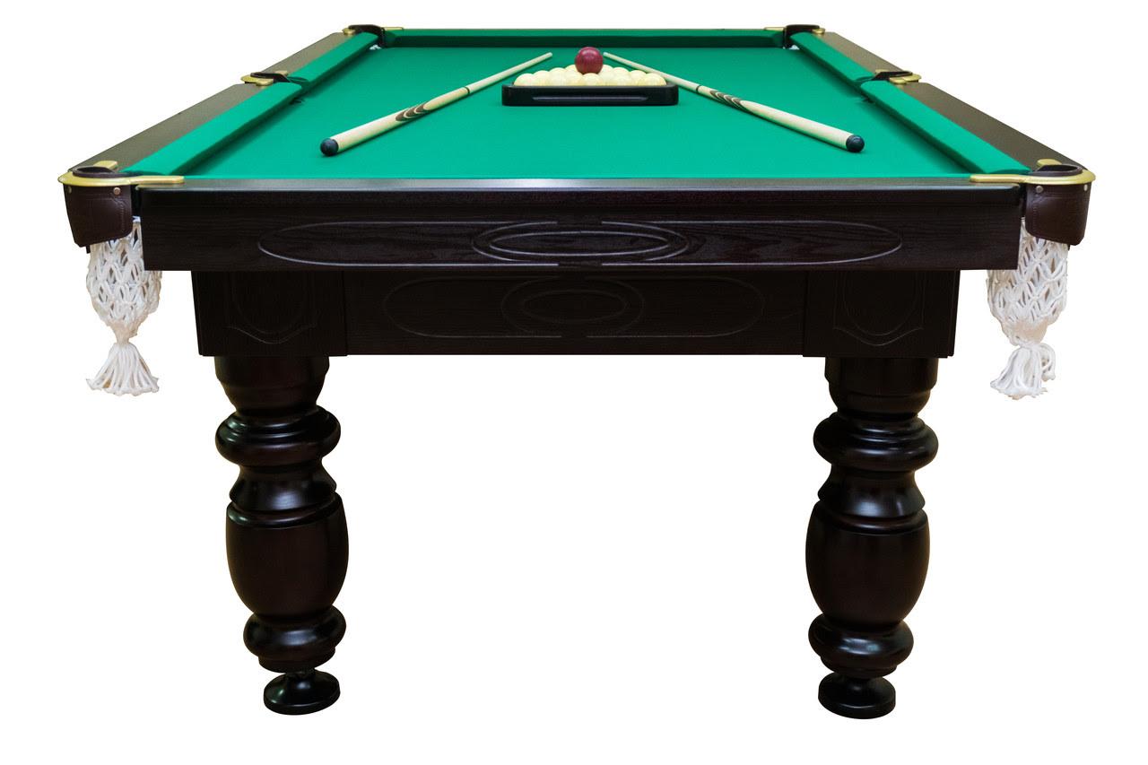 Бильярдный стол Мрия Нова Люкс (Ардезия) 12 футов Базовая