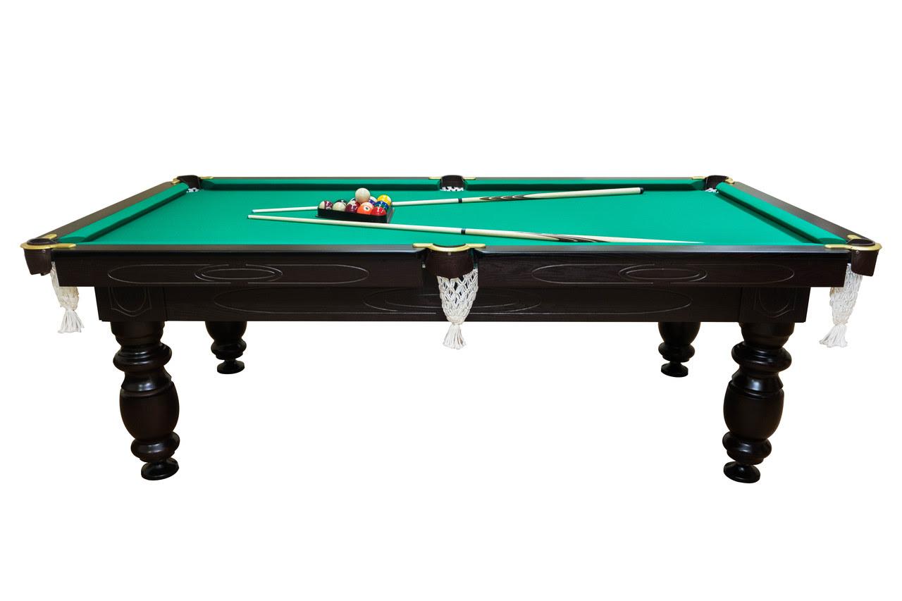 Бильярдный стол Мрия Нова Люкс (Ардезия) 8 футов Стандартная, американский пул