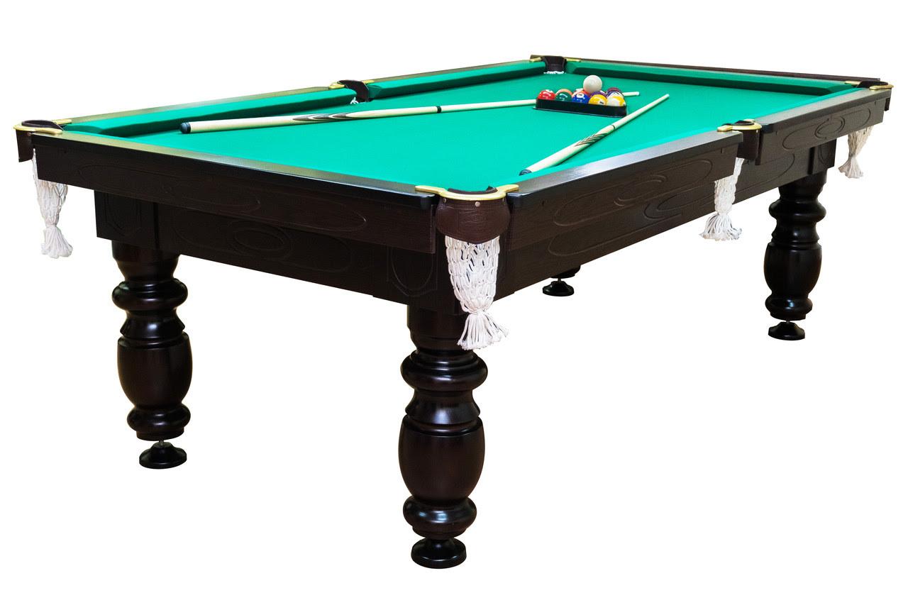 Бильярдный стол Мрия Нова Люкс (Ардезия) 8 футов Базовая, американский пул