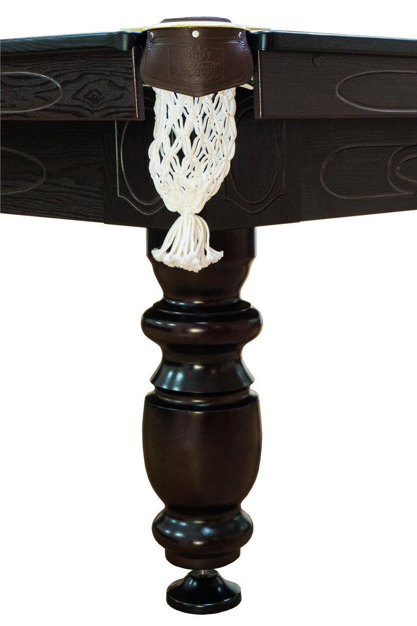 Бильярдный стол Мрия Нова Люкс (Ардезия) 9 футов Базовая, американский пул