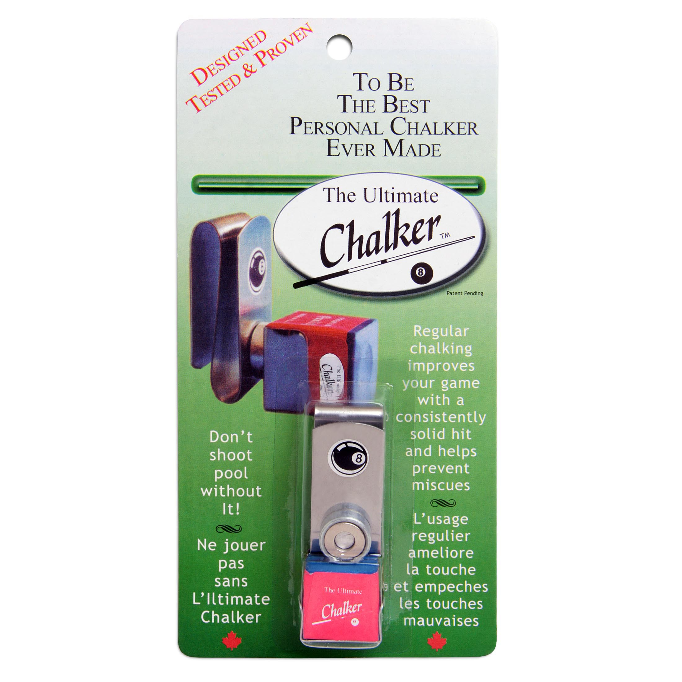 Держатель для мела Ultimate Chalker магнитный с мелком блистер