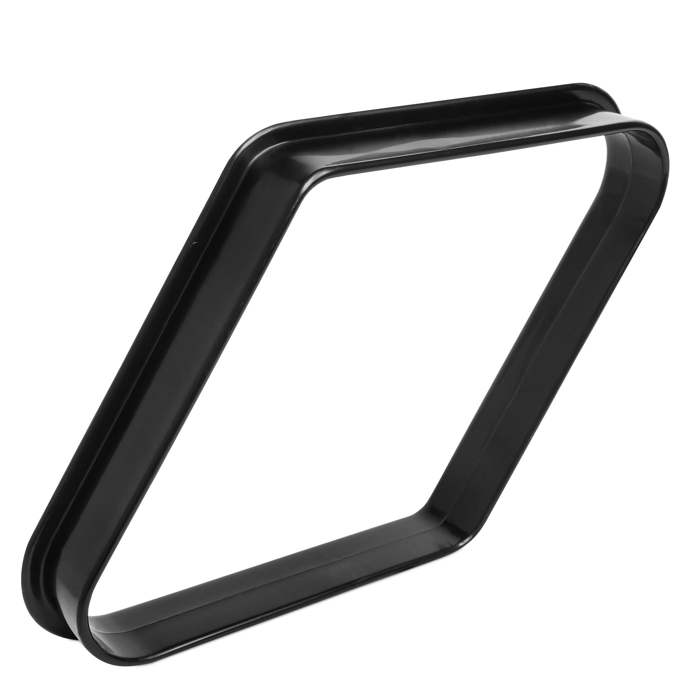 Треугольник - Ромб для пула пластик черный ø57,2мм