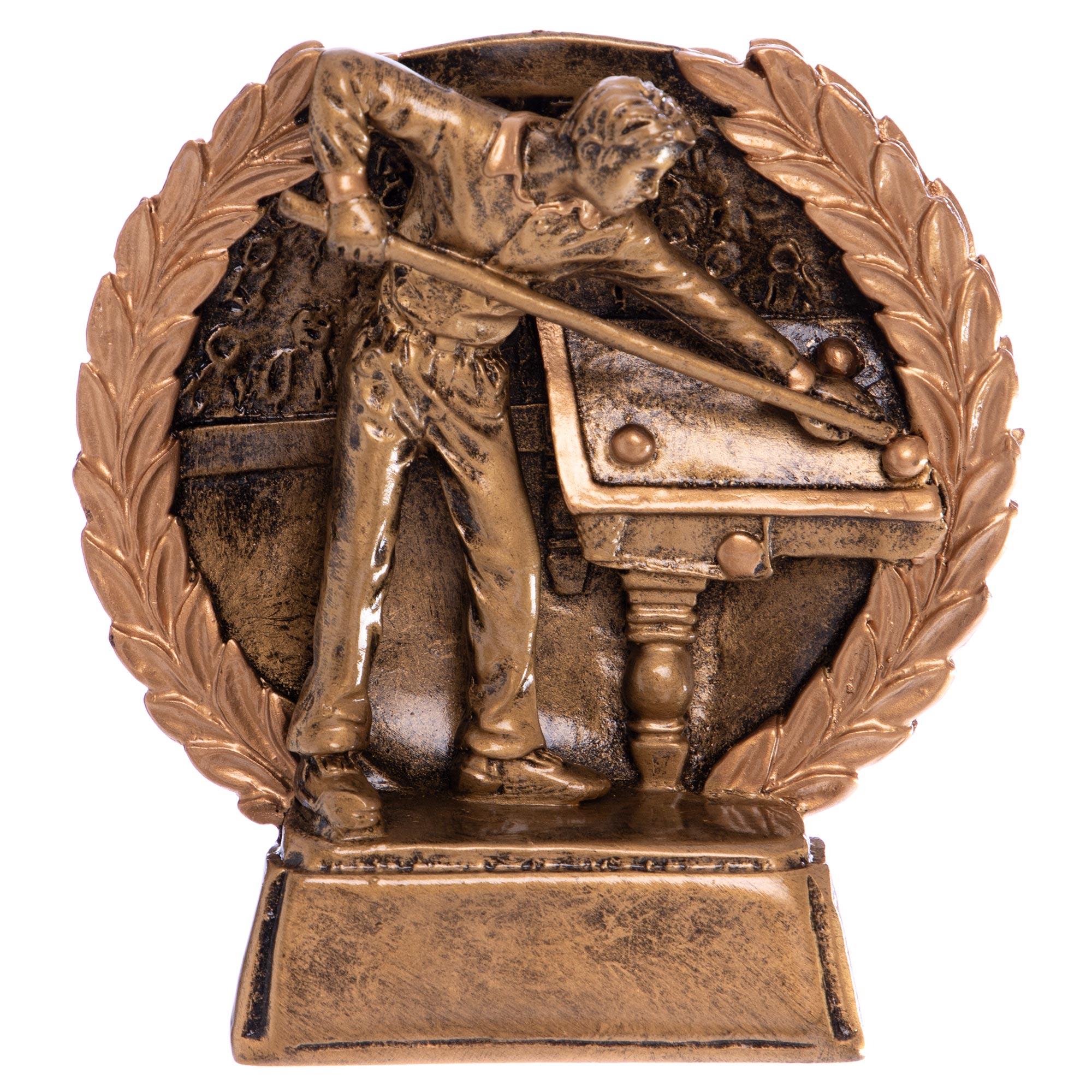 Статуэтка наградная Бильярдист