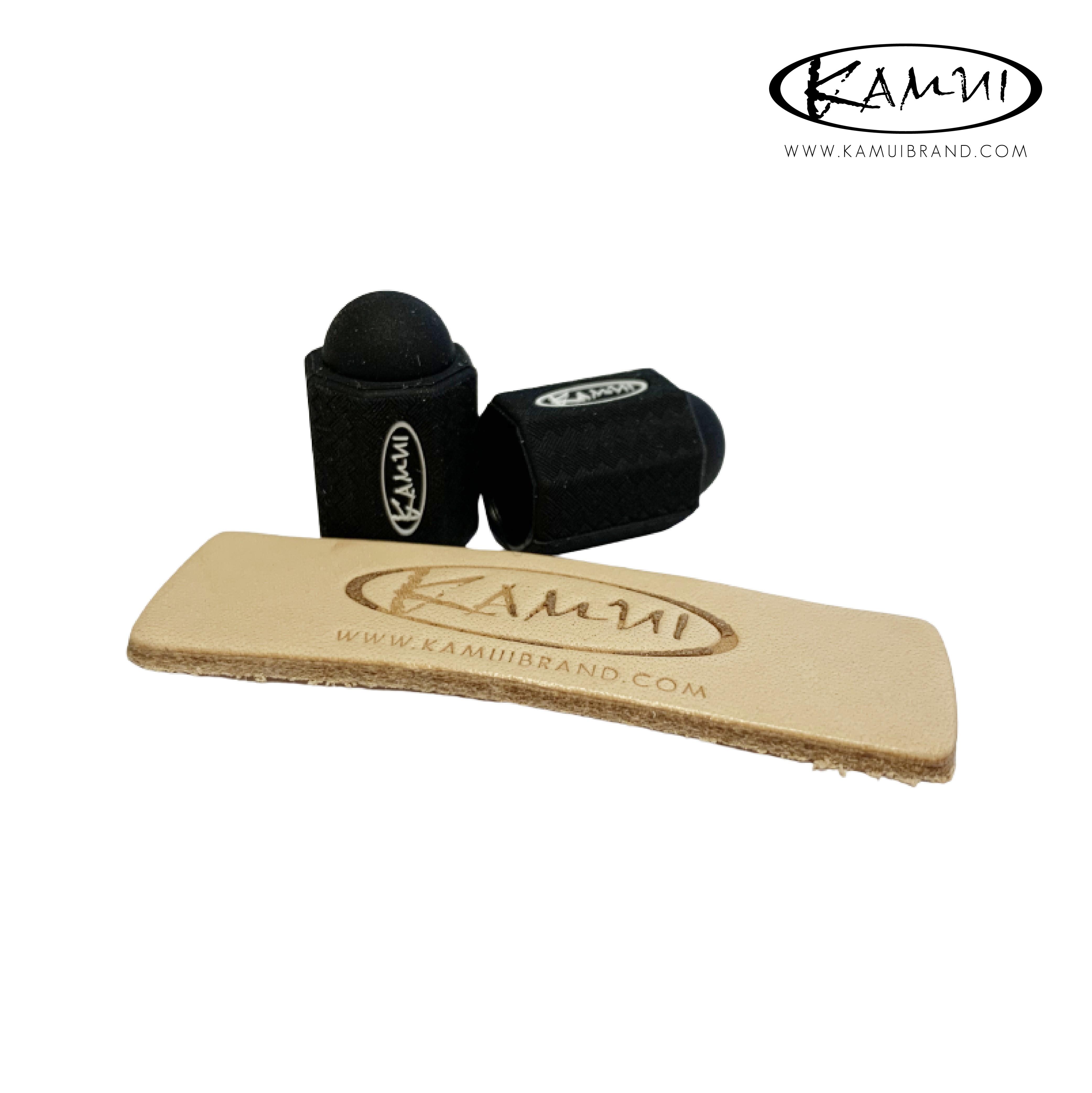 Набор для защиты бильярдной наклейки Kamui Tip Protector/Tip Burnisher ø11.75-14мм черный