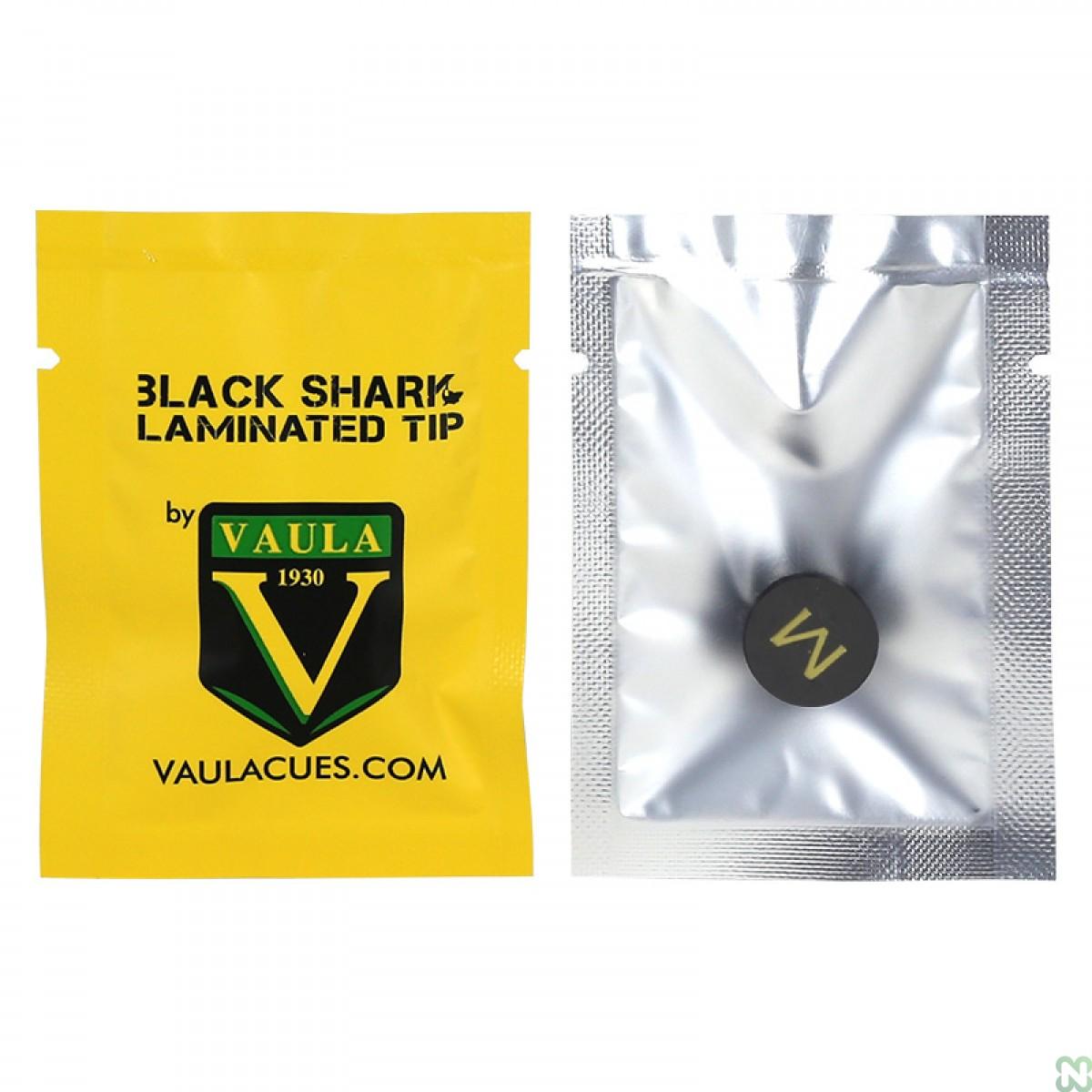 Наклейка для кия Vaula Black Shark ø14мм Medium
