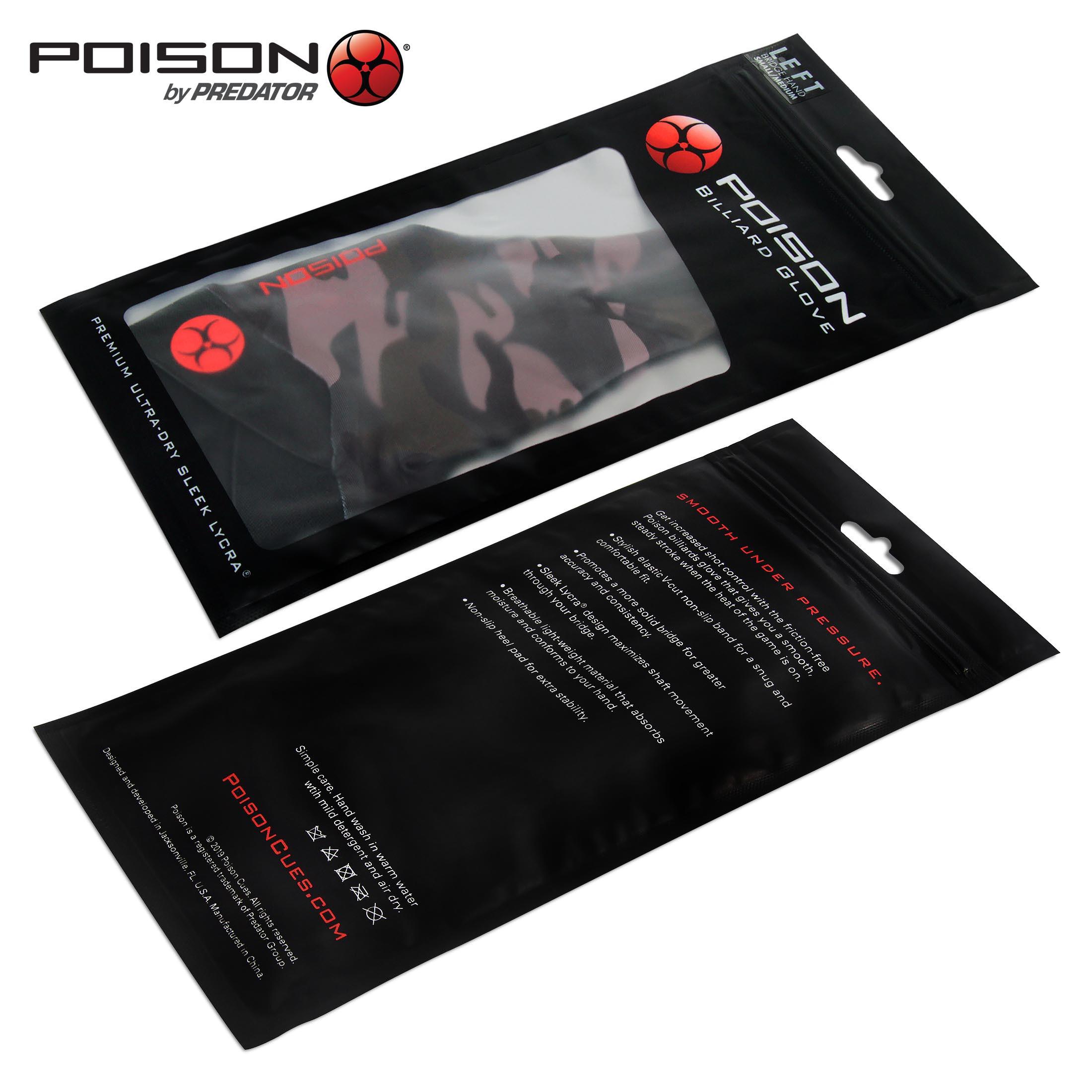 Перчатка Poison Camo Green S/M