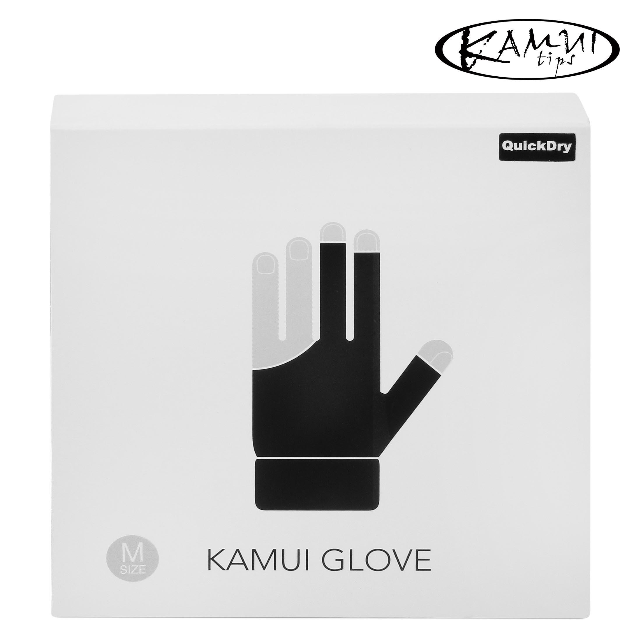 Перчатка Kamui QuickDry черная XXL