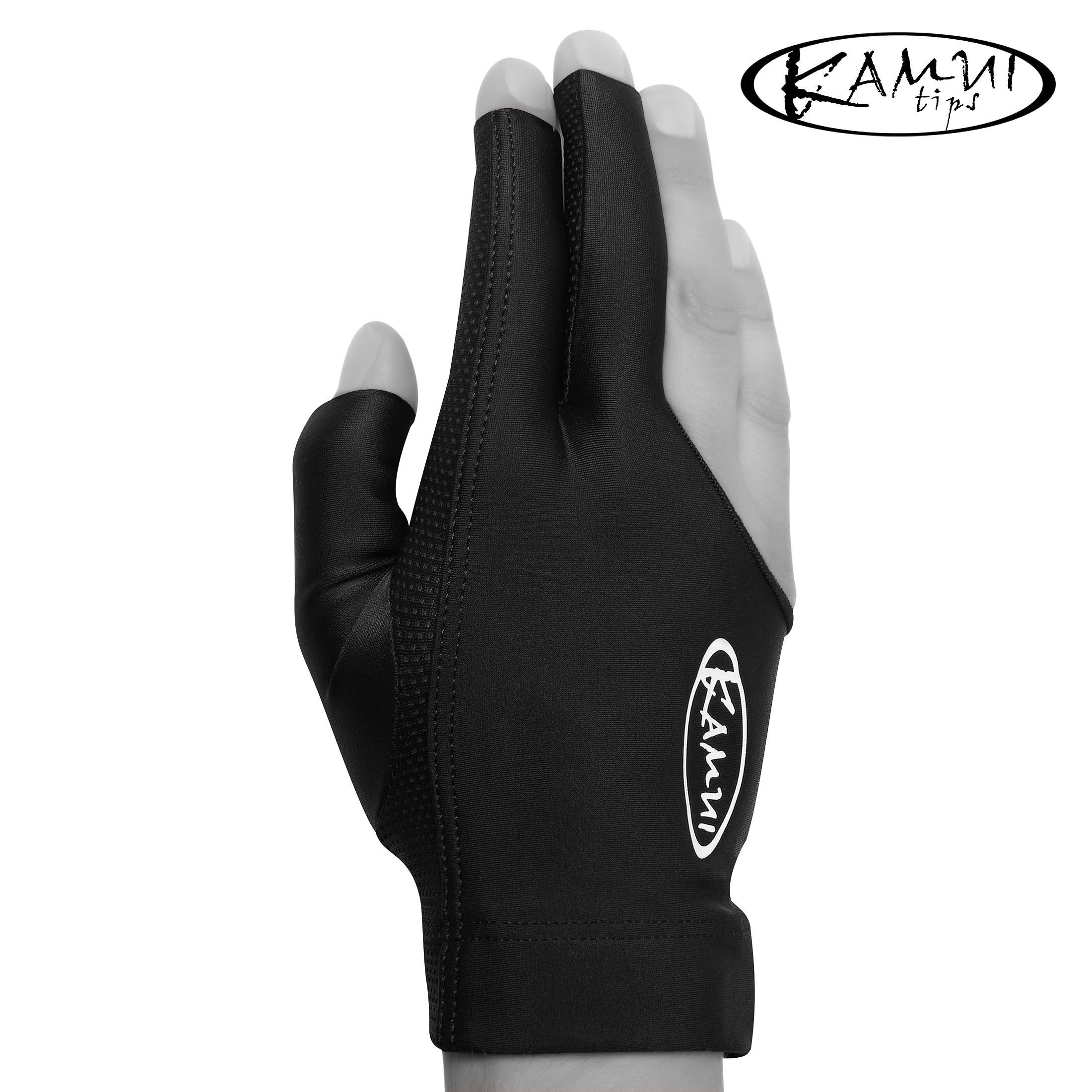 Перчатка Kamui QuickDry черная правая (для левши) XL
