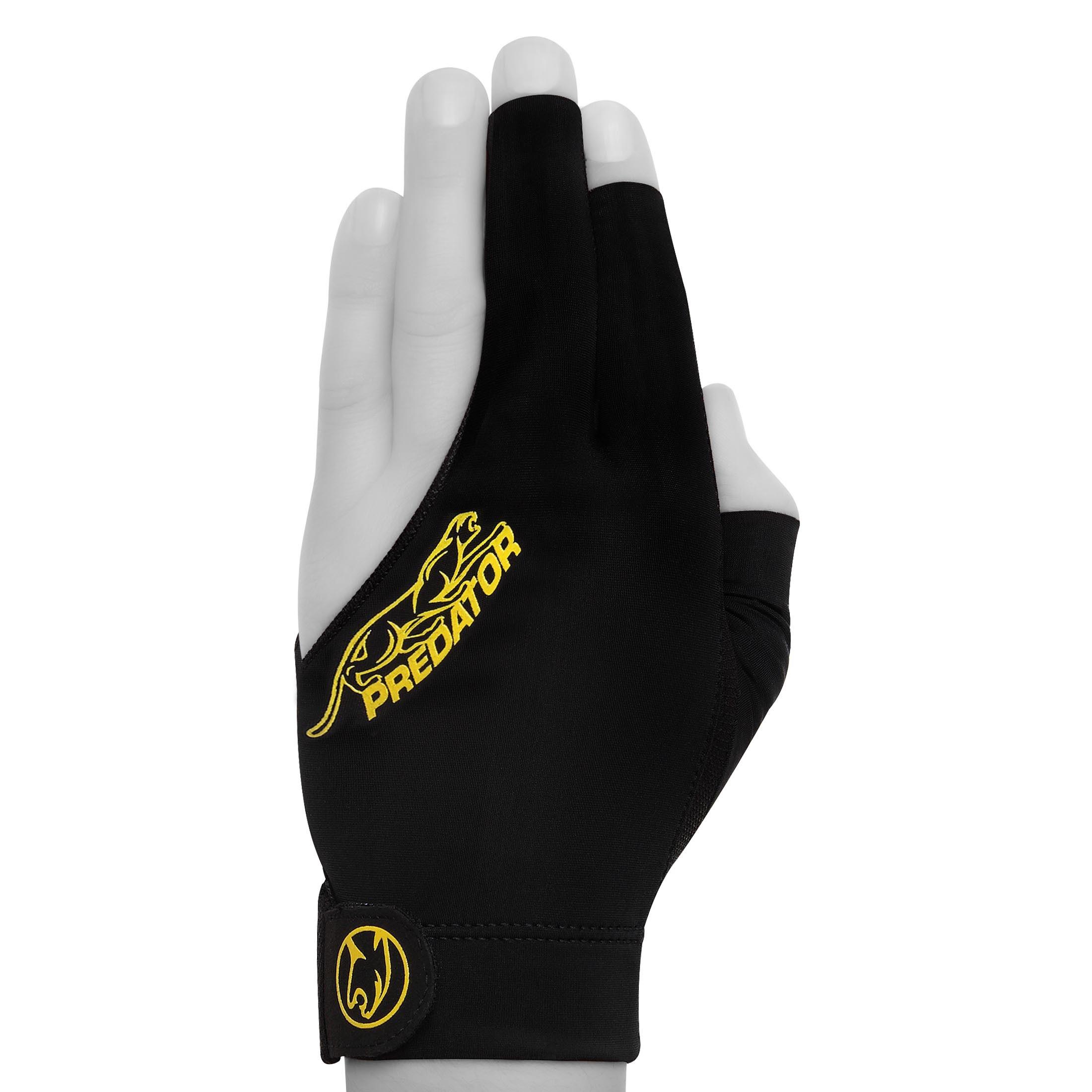 Перчатка Predator Second Skin Black/Yellow XXL