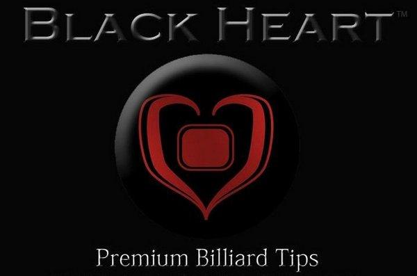 Наклейка для кия Black Heart E CLASS ø14мм Hard