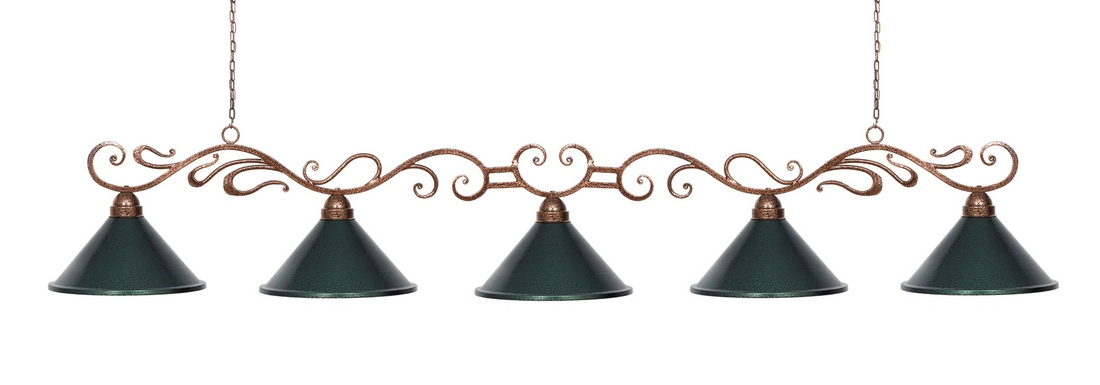 Лампа Антик 5 плафонов