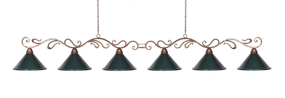 Лампа Антик 6 плафонов