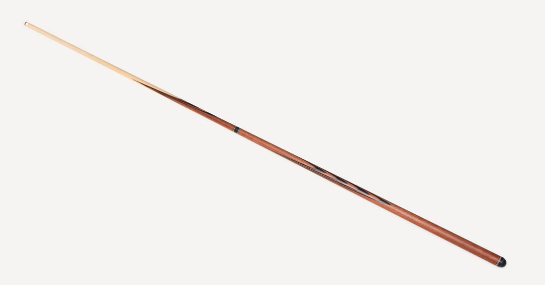 Бильярдный Кий Злата 2х3 Массаранд - Черный граб, длинный запил