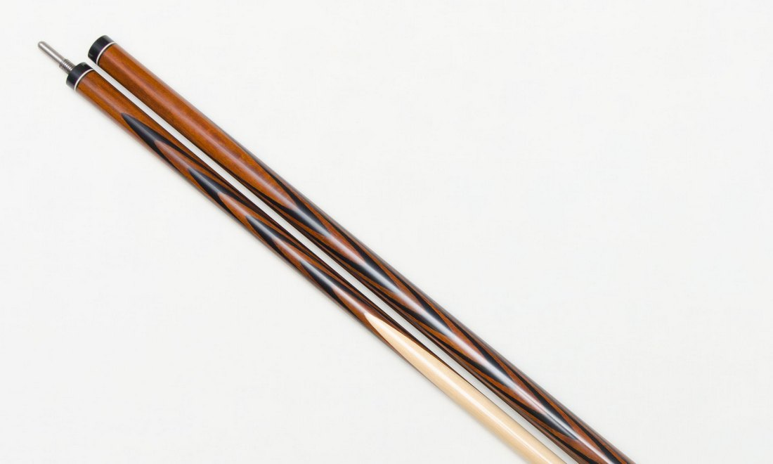 Бильярдный Кий Злата 4х6 Лапачо - Черный граб