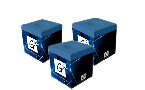 Мел для кия G2 Japan синий 1шт.