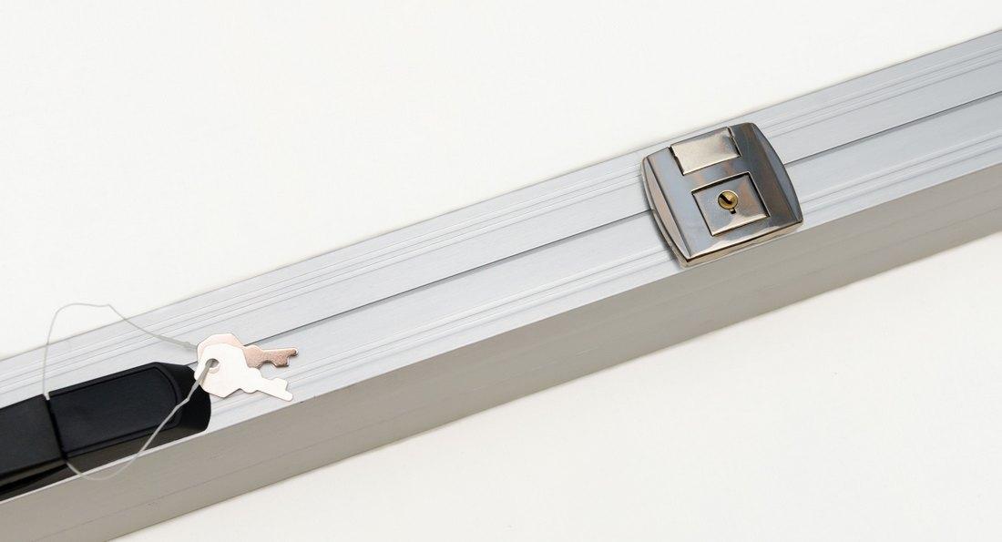 Кейс для бильярдного кия Concord, серебро алюминий