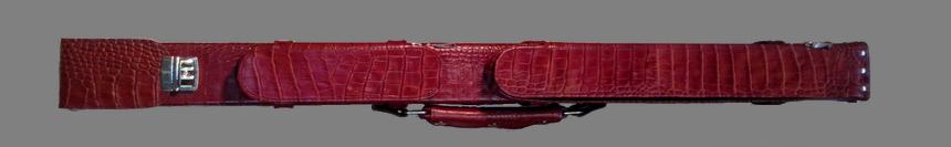 Кейс Мастер (кожа коричневый крокодил)