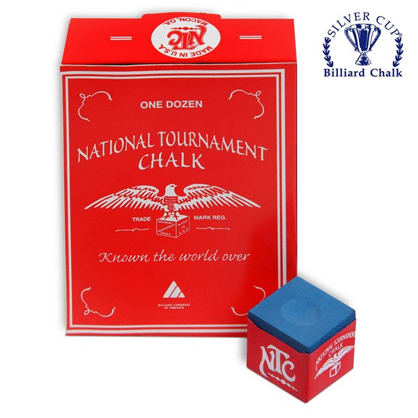 Мел National Tournament Chalk Blue 1шт