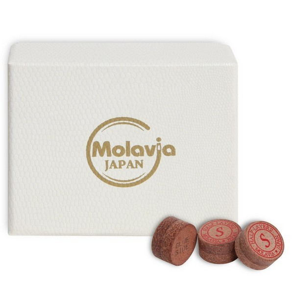 Наклейка для кия Molavia Half-Layer2 Duo ø13мм Soft 1шт.