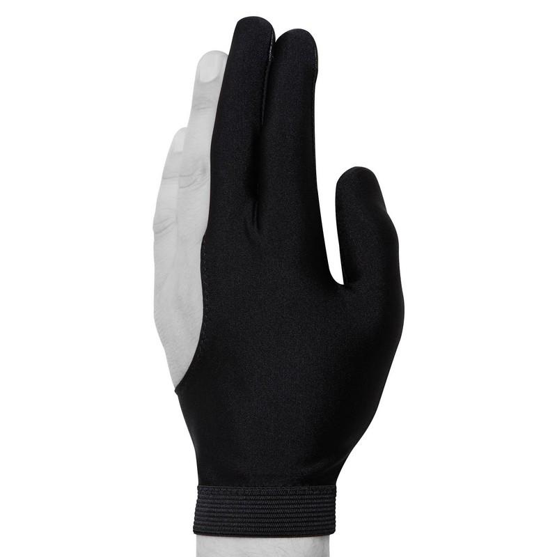 Перчатка Skiba Premium вставки кожи черная M/L
