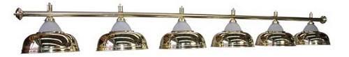 Лампа Luxury Gold 6 плафонов
