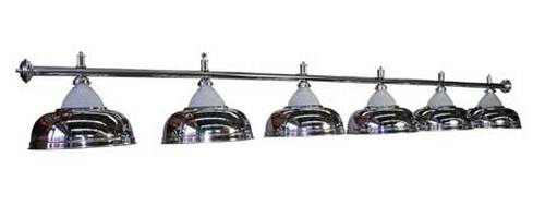 Лампа Luxury Silver 3 плафона