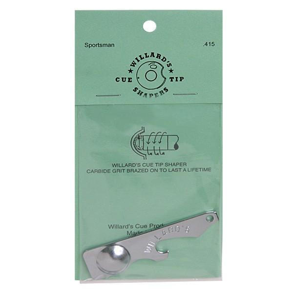 Инструмент для обработки наклейки Willard`s Cue Tip Shapers Sportsmans 415